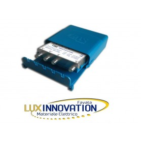 GBS Amplificatore da palo Antenna digitale terrestre TV VHF 20dB UHF 32dB UHF 36dB D