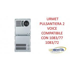 Pulsantiera videocitofono urmet 1083/77 urmet 1083/72 2 voice