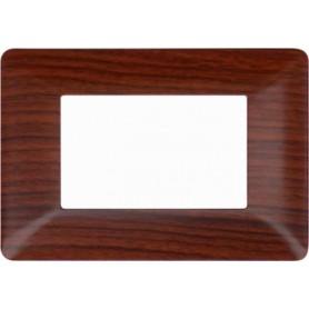 Placca legno noce Compatibile con Bticino matix