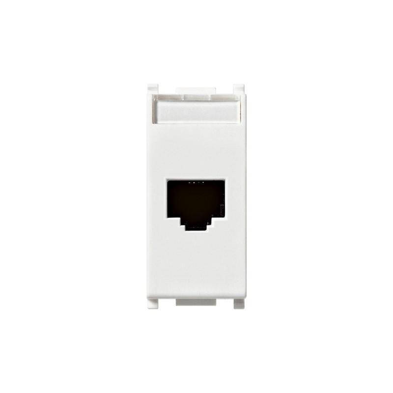 Presa RJ45 netsafe Cat5e UTP bianco Vimar 14339.11