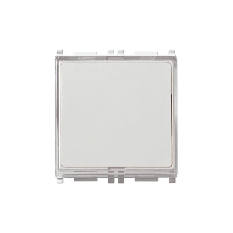 Pulsante targhetta VIMAR PLANA 1P 250V bianco