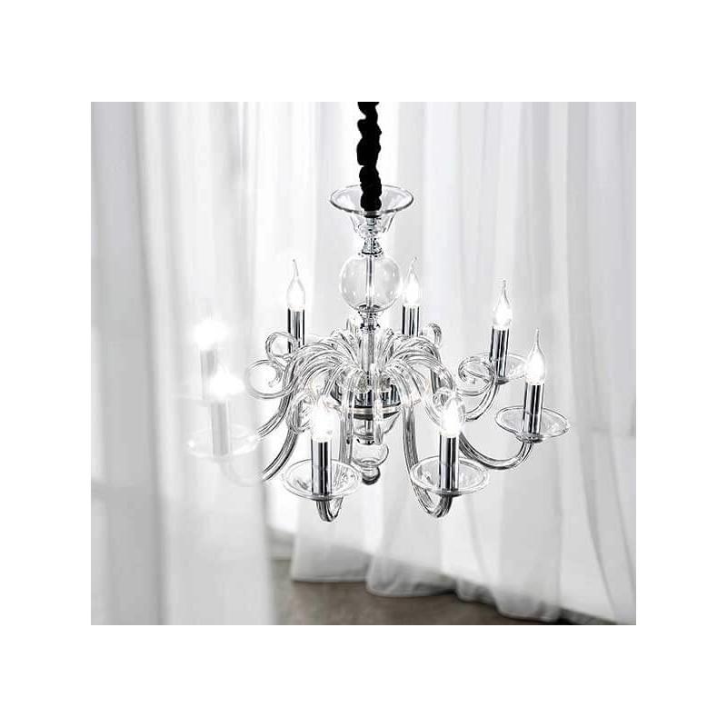 Lampadario sala top mobili sala da pranzo anni cristallo lampadario in sala da pranzo di - Lampadari sala da pranzo ...
