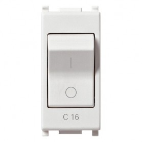 Interruttore MT vimar 14405.16 plana 1P+N C16 120-230V