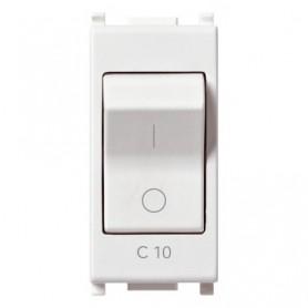 Interruttore MT vimar 14404.10 plana 1P C10 120-230V