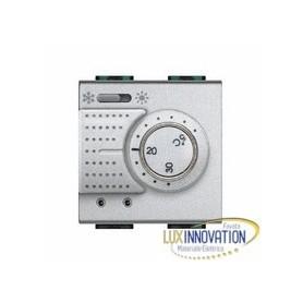Bticino 41 luxinnovation vendita materiale elettrico for Termostato bticino thermo p