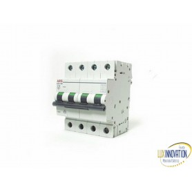Interruttore magnetotermico 63A 4 poli AEG 6 KA
