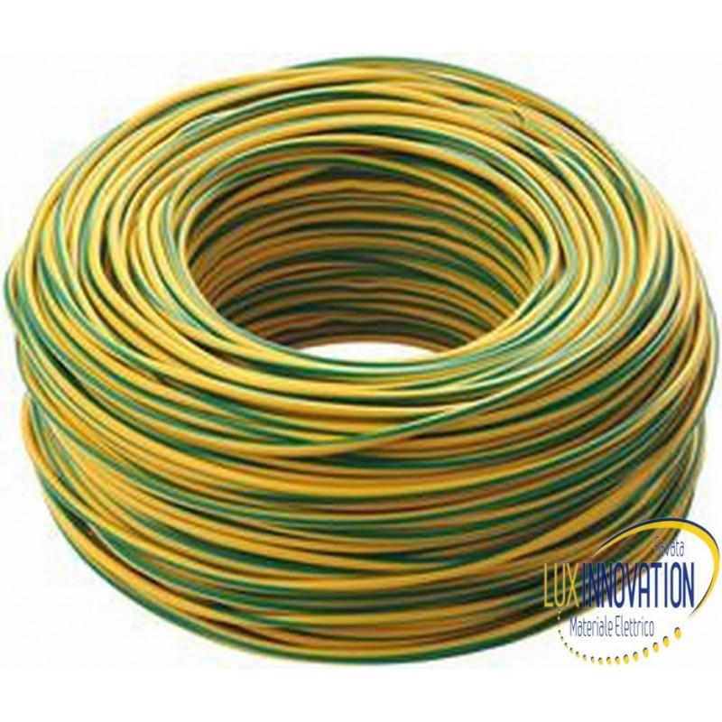 Cavo unipolare 6 giallo verde FS6
