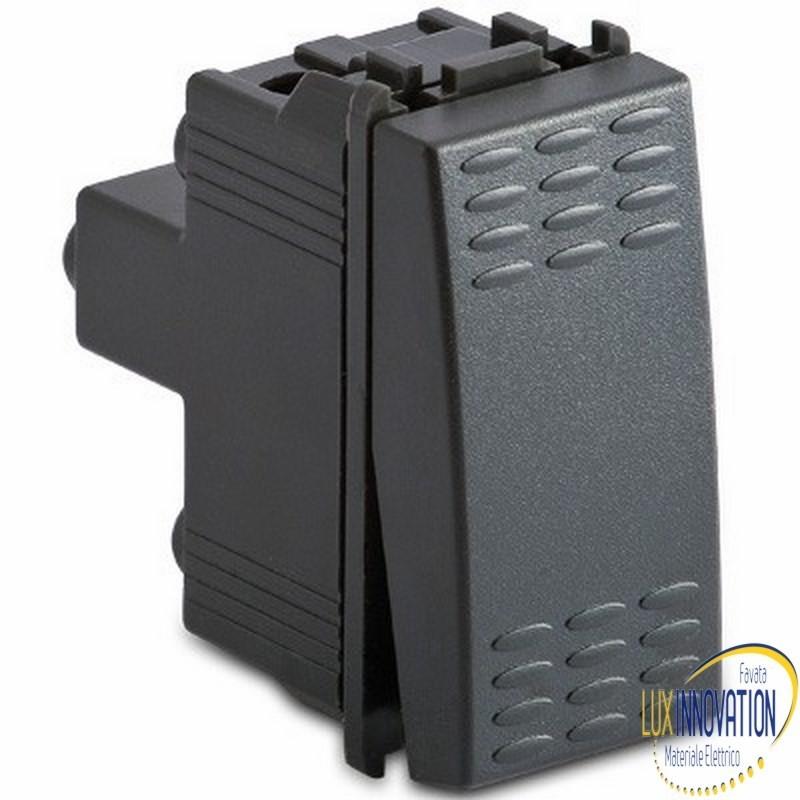 Deviatore di linea 1P - 16AX 250V grigio