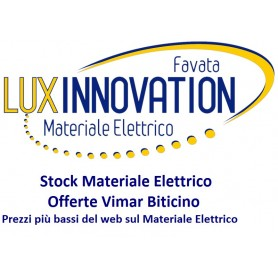 Stock Materiale Elettrico Vimar e Bticino