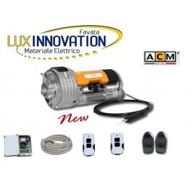Kit motore serranda ACM con Elettrofreno ,Centralina, 2 Telecomandi, coppia fotocellule