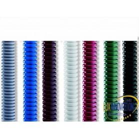 Tubo corrugato colorato da 25 Matassa da 50 mt