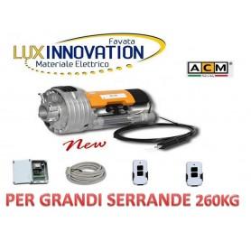 Kit motore serranda ACM con Elettrofreno ,Centralina , 2 Telecomandi uni kit pro