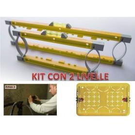 Kit Livelle per montaggio scatole 503 LIVELLA DYMASON