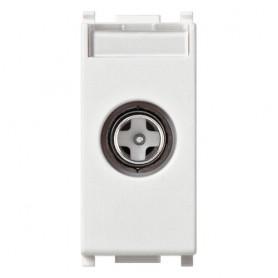 Presa TV-RD-SAT diretta bianco compatibile Vimar 14300.01