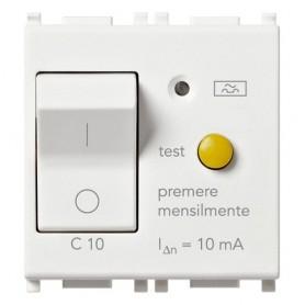 Interruttore MT differenziale 1P+N C10 10mA vimar 14411.10