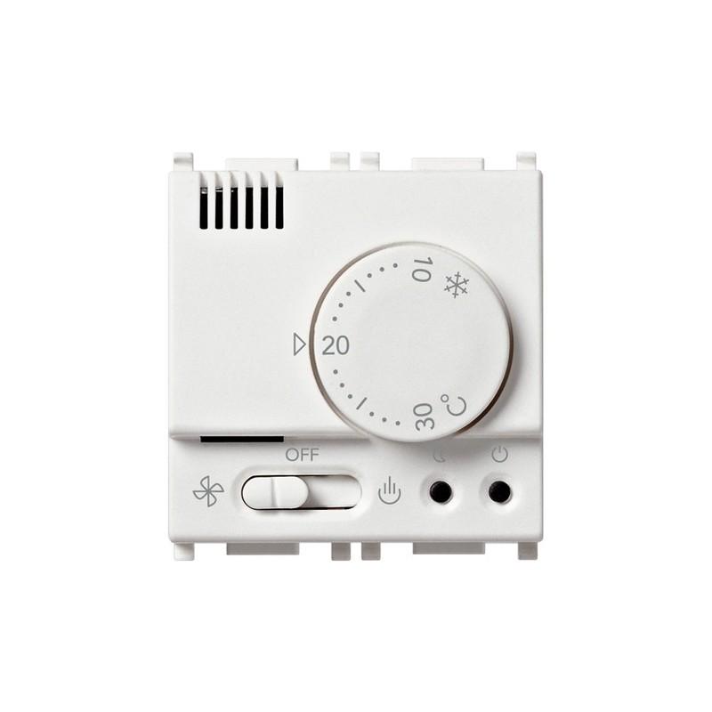 Termostato elettronico Vimar Plana 230V bianco