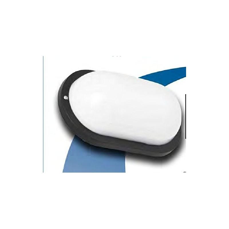 Plafoniera ovale da muro