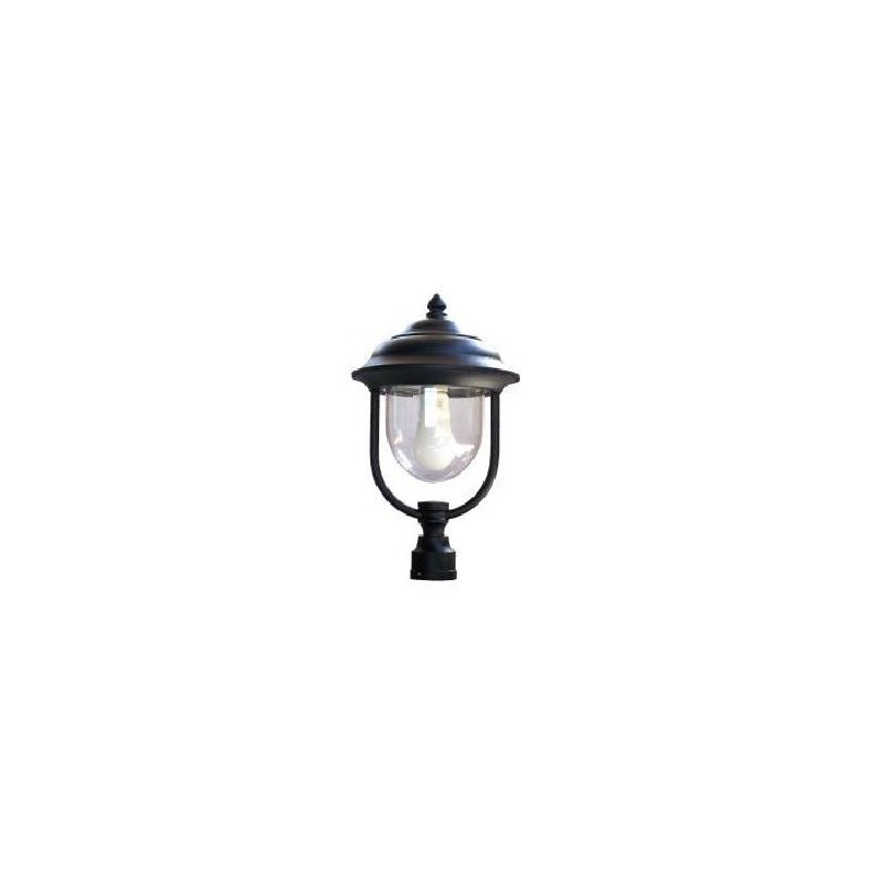 Lanterna a cupola con attacco a palo Gloria Poliplast