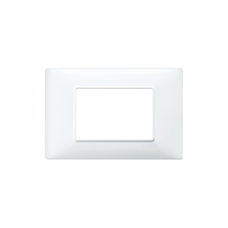 Placca 3M bianco Vimar Plana 14653.01
