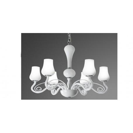Sospensione Design Lampadari Camera Da Letto.Lampadario Sospensione In Vetro D 66 Art 5783 Illuminazione