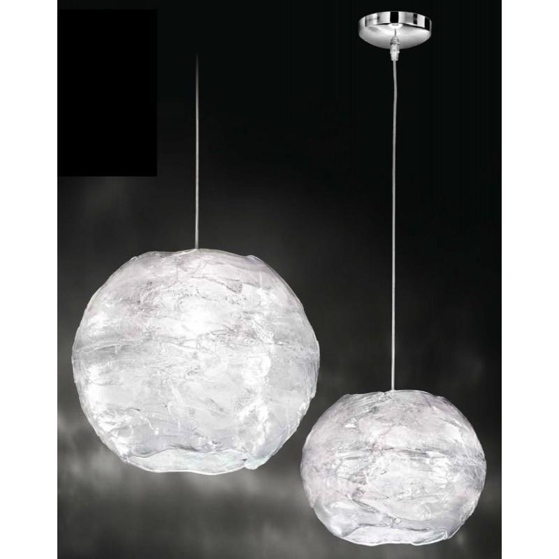Lampadario coordinato 2 lampade a sospensione acrilico trasparente illuminazione - Lampade per cucina moderna ...