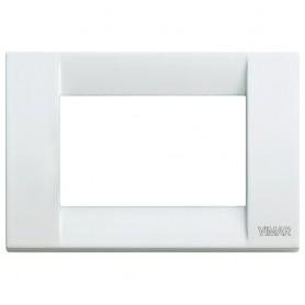 Placca Classica 3M bianco Vimar Idea 16733.01
