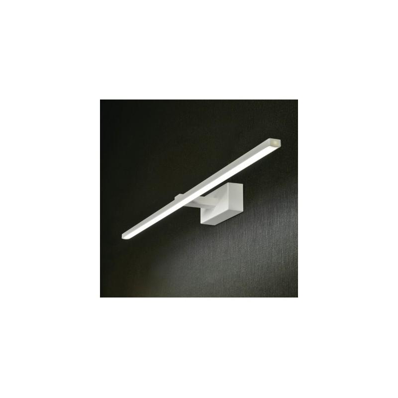 Applique da specchio bagno elegance a modulo led16w in metallo moderno l9034 16cr - Applique da specchio bagno ...