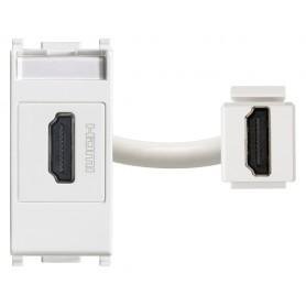 Presa standard HDMI,vimar 14346 plana aggancio standard Keystone