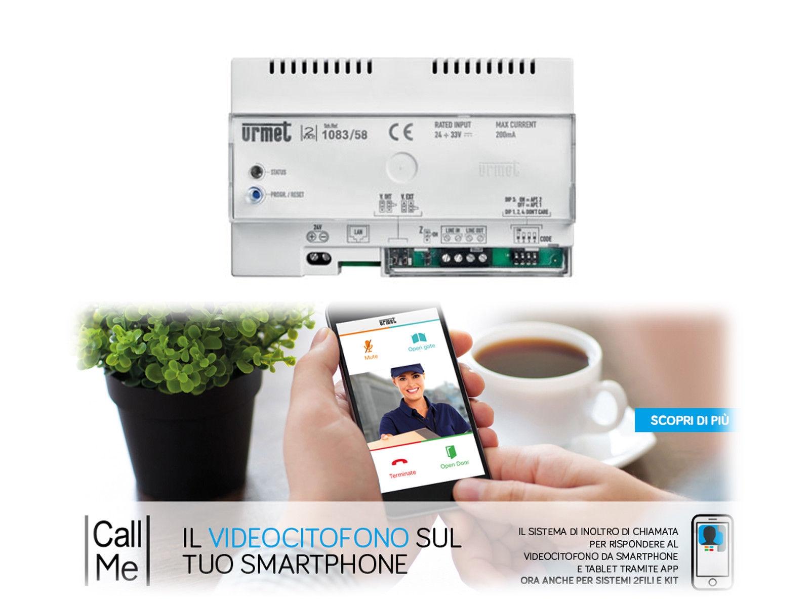 Schema Elettrico Urmet 2 Voice : Dispositivo di chiamata urmet 1083 58 per videocitofono 2 voice