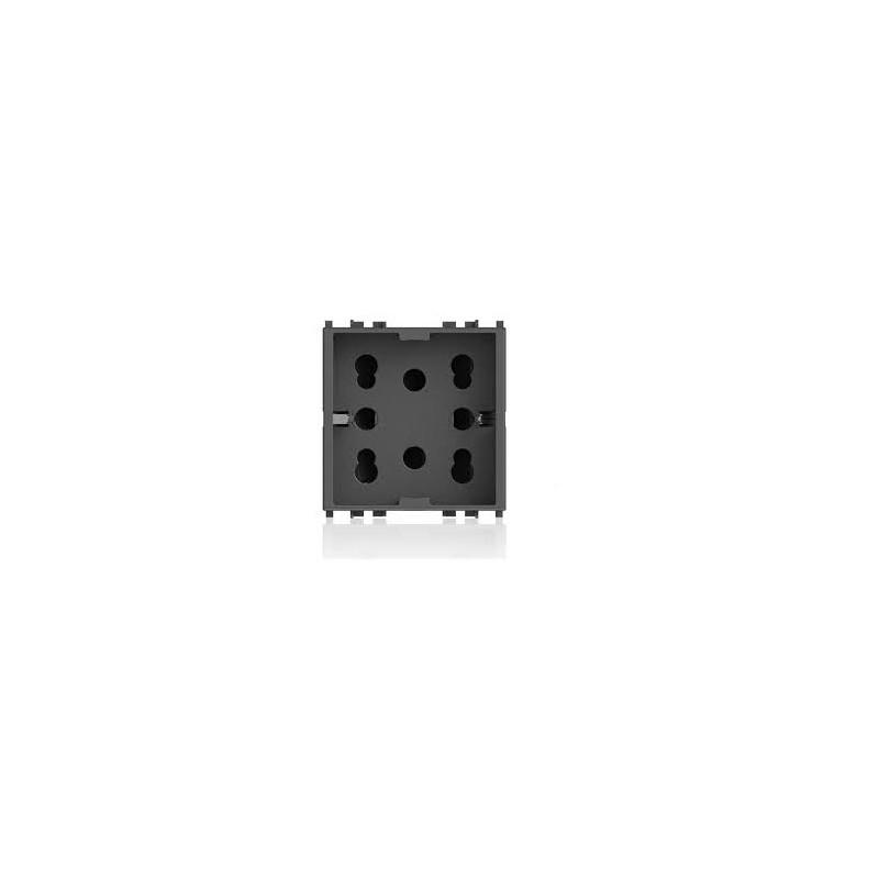 Presa Multistandard 1 Schuko o 2 4B.V19.H21 compatibile arkè