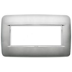 Placca Round 5M BS argento matt Vimar 20679.C13