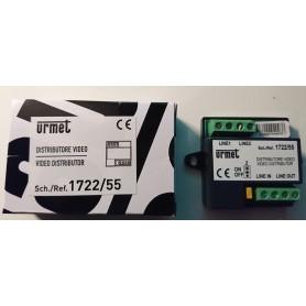 Urmet 1722/55 Distributore 2 Utenze per sistema 2 fili