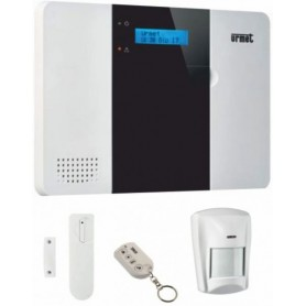 KIT ALLARME SENZA FILI WIRELESS ZENO CON COMUNICATORE 3G INTEGRATO E SINTESI VOCALE URMET 1051/901