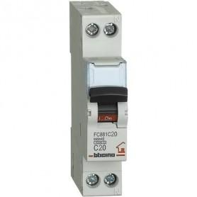 Interruttore magnetotermico 20A Bticino FC881C20 1 modulo