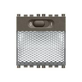 Lampada segnapasso LED 230V Vimar arkè metal 19389.M