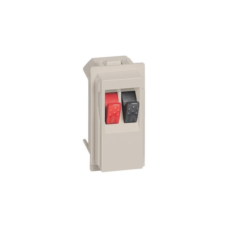Connettore per altoparlante 1 modulo sabbia KM4294