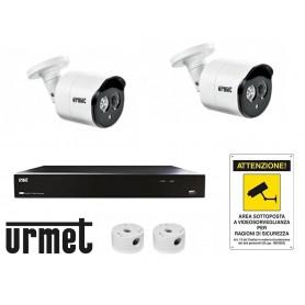 KIT Videosorveglianza IP Urmet TVCC 4K 5 MEGAPIXEL 1098/824