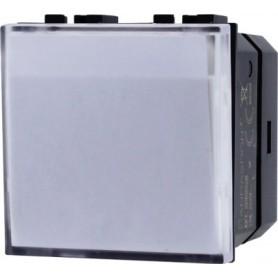 Pulsante targa portanome bticino matix AM5008