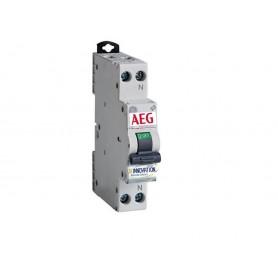 Interruttore magnetotermico 10A 1 polo + N1 modulo AEG